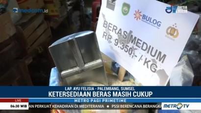 Tekan Harga Beras, Bulog Subang dan Sumsel Gelar Operasi Pasar