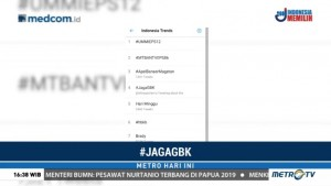 Tagar #JagaGBK Jadi Trending Topic Jelang Laga Indonesia vs Islandia