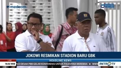 Sejumlah Menteri Hadiri Peresmian Stadion Utama GBK