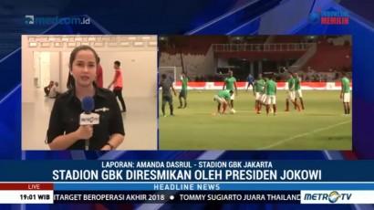 Jokowi Resmikan Stadion Utama GBK
