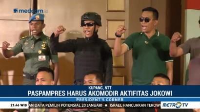 Wajah Baru Paspampres di Era Jokowi