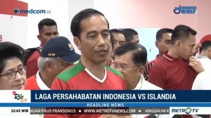 Jokowi Puas dengan Hasil Renovasi Stadion Utama GBK