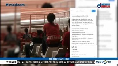 Aksi Penonton Bandel di Stadion GBK Viral di Media Sosial