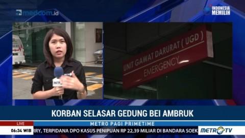 2 Korban Ambruknya Selasar BEI akan Menjalani Operasi di RS Siloam