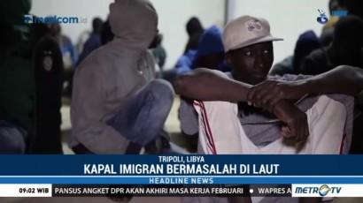 Penjaga Pantai Libya Selamatnya Lebih dari 350 Imigran