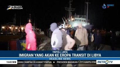 350 Imigran Timteng Ditangkap di Libya