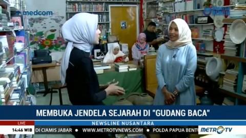 Membuka Jendela Sejarah di Gudang Buku Aceh