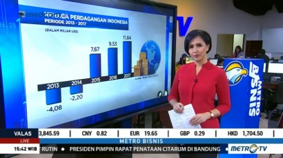 Neraca Perdagangan Indonesia Terus Membaik