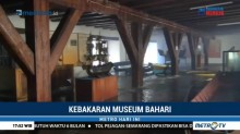 Petugas Selidiki Penyebab Kebakaran Museum Bahari
