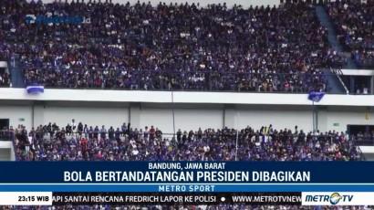 Persib Menang Tipis atas Sriwijaya FC