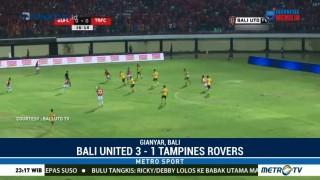 Bali United Taklukan Tampines Rovers 3-1
