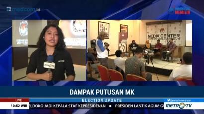 KPU akan Laksnakan Putusan MK soal Verifikasi Faktual