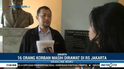 16 Korban Mezanine BEI Masih Dirawat di RS Jakarta