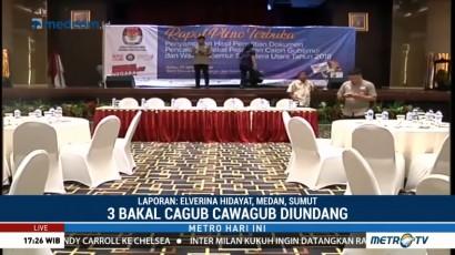 KPU Sumut Gelar Rapat Pleno Terbuka
