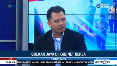 Analis: Penambahan Kursi Menteri Bagi Golkar Bentuk Sekuritas Politik Jokowi