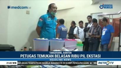 BNN Gerebek Rumah Tempat Produksi Ekstasi di Tangerang