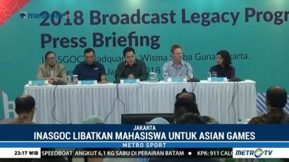 INASGOC Libatkan Mahasiswa dalam Penyelenggaraan Asian Games