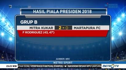 Mitra Kukar Menang 2-0 atas Martapura FC