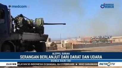 Militer Suriah Rilis Video Pertempuran di Aleppo