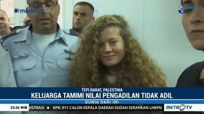 Pengadilan Militer Israel Tetap Menahan Ahed Tamimi