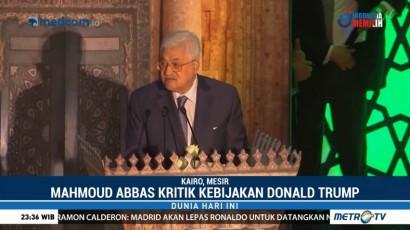 Presiden Palestina Kritik Keras Kebijakan Trump