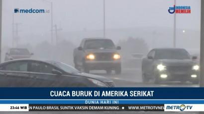 Hujan Salju Landa Sejumlah Negara Bagian di AS