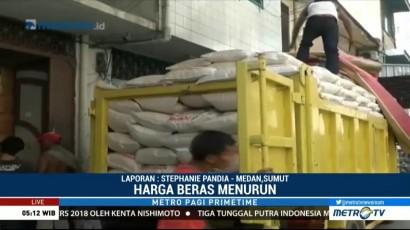Harga Beras di Medan Berangsur Turun