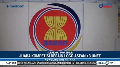 Mahasiswa Unair Juarai Lomba Desain Logo ASEAN+3 UNet