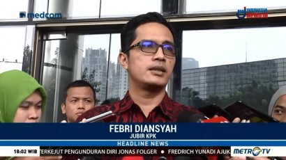 KPK Tak Khawatir dengan Gugatan Praperadilan Fredrich
