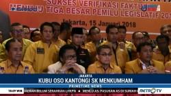Hanura Kubu OSO Kantongi SK Menkumham