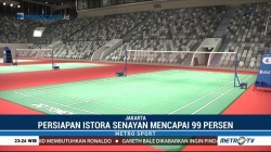 Pascarenovasi, Istora Senayan Siap Gelar Indonesia Masters 2018