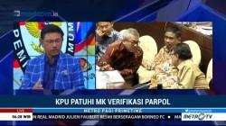 KPU Patuhi MK soal Verifikasi Partai Politik (1)