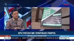 KPU Patuhi MK soal Verifikasi Partai Politik (2)