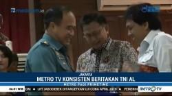 Metro TV Raih Penghargaan Navy Media dari TNI AL