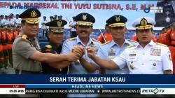 Serah Terima Jabatan KSAU, Marsekal Yuyu Gantikan Marsekal Hadi