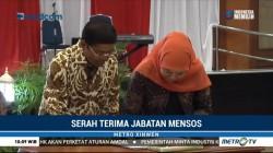 Sertijab Mensos, Idrus Marham Gantikan Khofifah Indar Parawansa