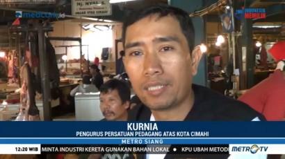 Harga Melonjak, Pedagang Ayam Potong di Cimahi Mogok Jualan