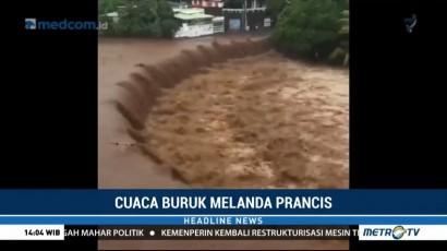 Cuaca Buruk Picu Badai dan Banjir di Prancis