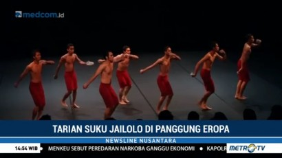 Tarian Suku Jailolo di Panggung Eropa