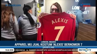 Manchester United Mulai Jual Jersey Alexis Sanchez