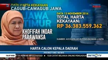 Khofifah-Emil Jadi Paslon Terkaya di Pulau Jawa