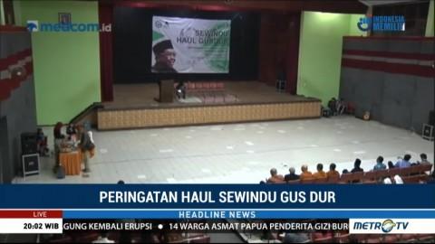 Tokoh Lintas Agama Hadiri Sewindu Haul Gus Dur di Malang