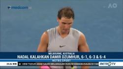 Nadal dan Dimitrov Melaju ke Babak Empat Australia Terbuka 2018