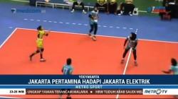 Proliga 2018: Jakarta Pertamina Energi Taklukkan Elektrik PLN