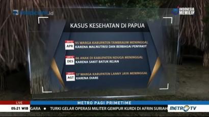 KLB Campak dan Gizi Buruk di Papua