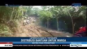 Tanah Bergerak, Jalan Antardesa di Banjarnegara Terputus