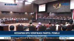 Kesiapan KPU Verifikasi Partai Politik Pemilu