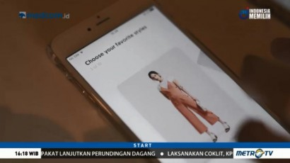 Yuna, Asisten Virtual untuk Memilih Pakaian