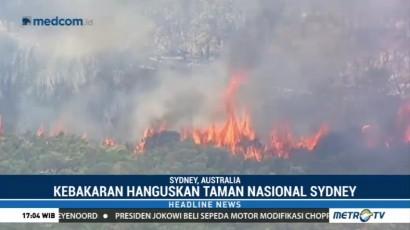 Kebakaran Hebat Terjadi di Taman Nasional Sydney