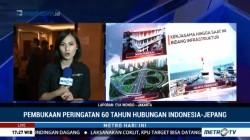 Wadaiko & Bajidor Kahot Meriahkan Peringatan 60 Tahun Diplomasi Indonesia-Jepang